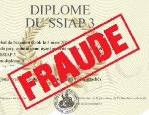 diplome ssiap3 fraude