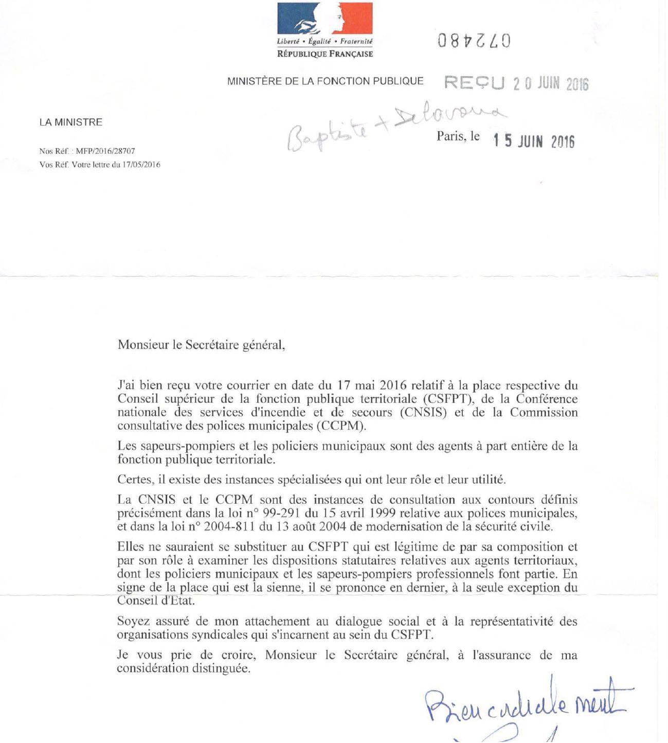 2016-06-16 - reponse girardin cnsis