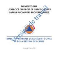 Compte rendu de la réunion DGSCGC sur le droit syndical du 22 septembre 2020