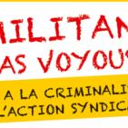Manifestation du 15 octobre 2019. MOTION DE SOUTIEN
