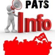 Représentation des PATS dans les CASDIS Auditions au sénat et à l'Assemblée Nationale