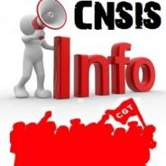 Déclaration et compte rendu de la CNSIS du 31 mai 2018